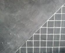 Microcemento sobre azulejos viejos